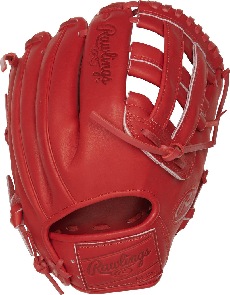 "Rawlings Heart of the Hide 12.25"" Pro Label Fire Baseball Glove: PROKB17-6S"