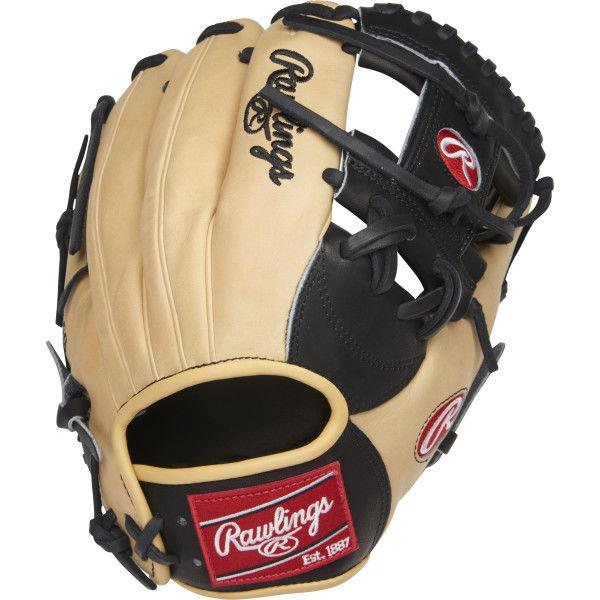 "Rawlings Heart of the Hide 11.5"" Infield Baseball Glove: PRONP4-2BC at headbangersports.com"