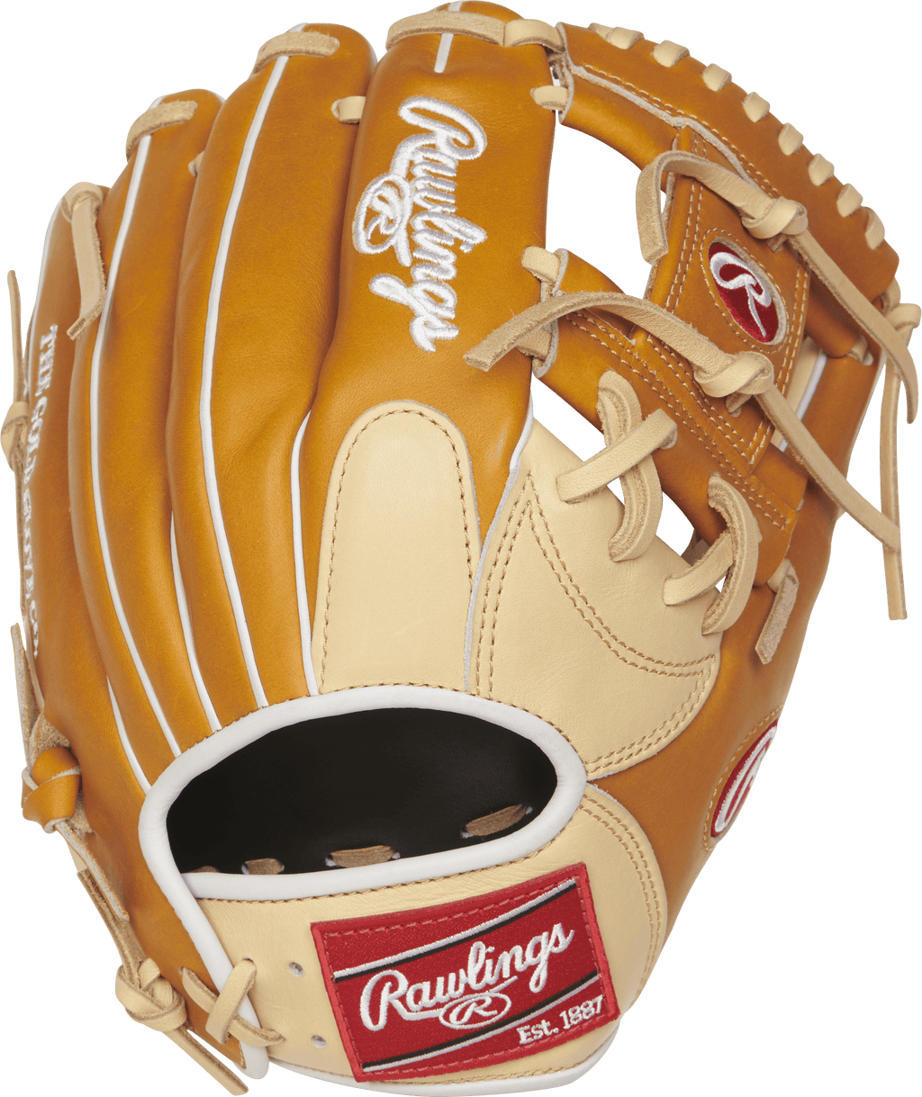 "Rawlings Heart of the Hide 11.5"" Infield Baseball Glove: PRONP4-2CTW at headbangersports.com"