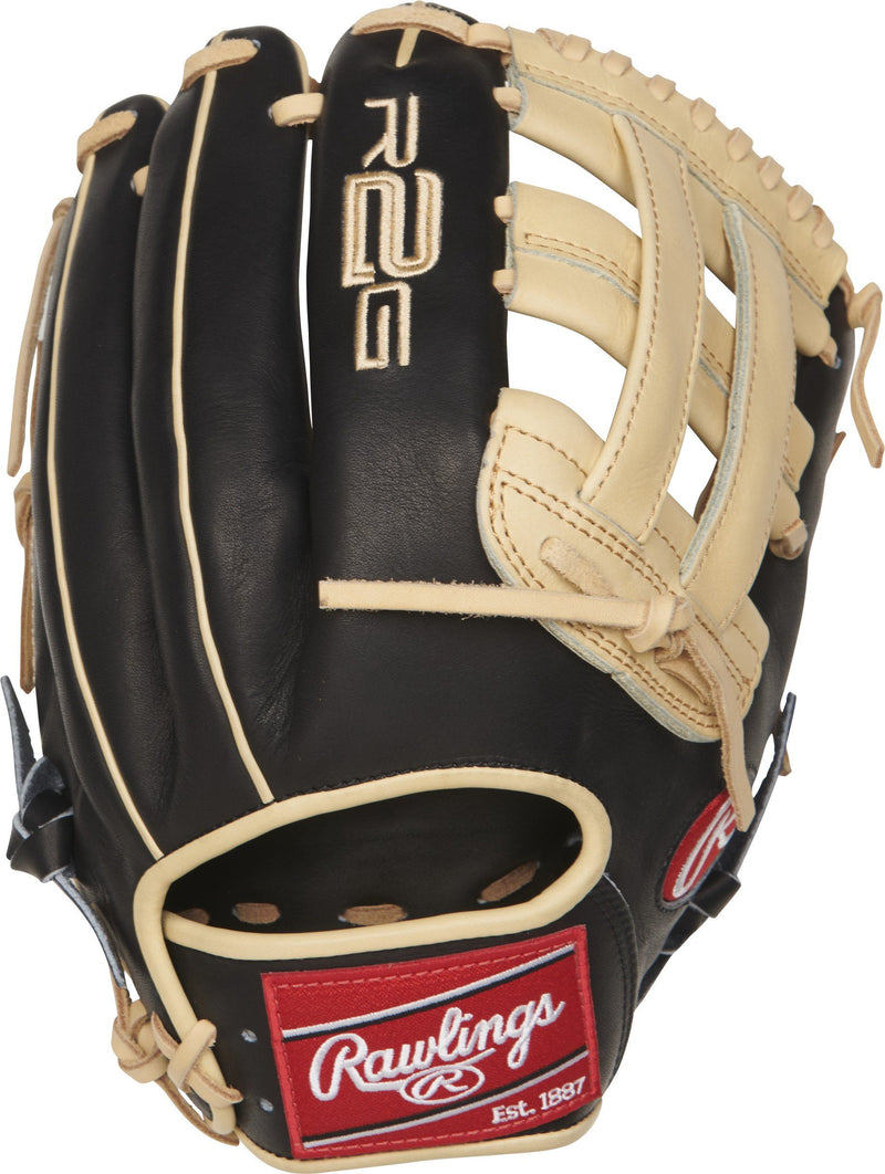 "Rawlings Heart of the Hide R2G 12.25"" Baseball Glove: PROR207-6BC at headbangersports.com"