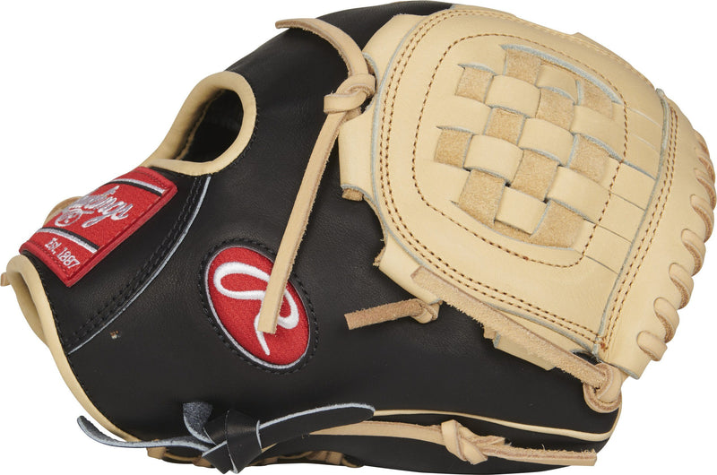 "Ready to Go Break In Youth Baseball Glove 10.75"" Basket Web Fielding Glove at headbangersports.com"