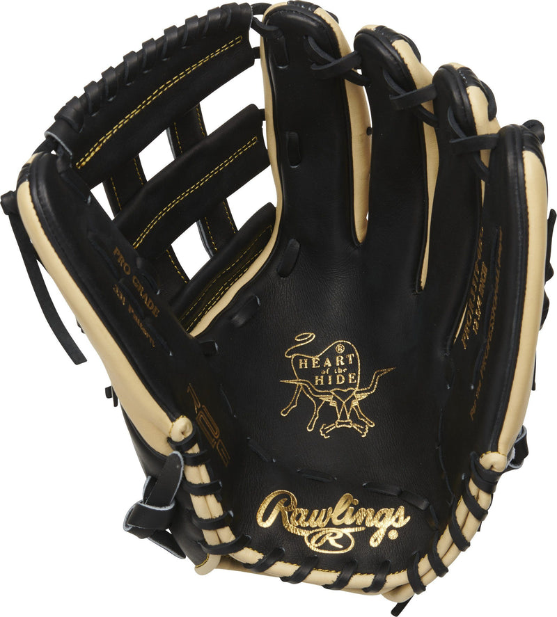 "Rawlings Heart of the Hide R2G 12.75"" Outfield Baseball Glove: PROR3319-6BC"