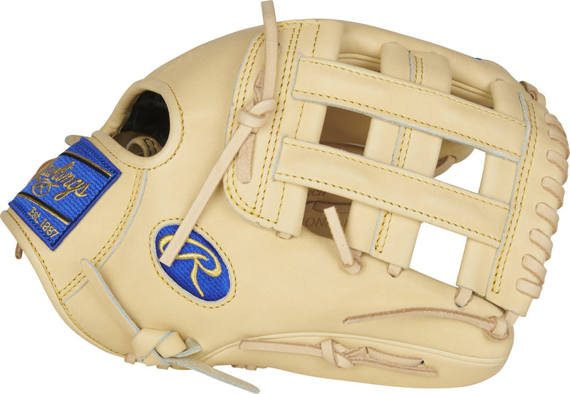 "Rawlings Heart of the Hide R2G 12.25"" Infield/Outfield Baseball Glove: PRORKB17"