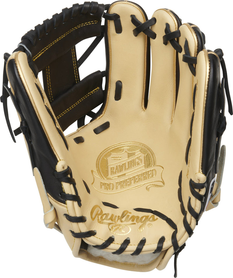 "2021 Rawlings Pro Preferred 11.5"" Infield Baseball Glove: PROS204W-2CBG"