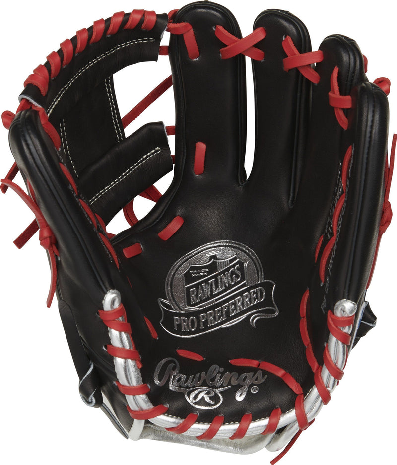 "2021 Rawlings Pro Preferred 11.75"" Francisco Lindor GM Baseball Glove: PROSFL12B"