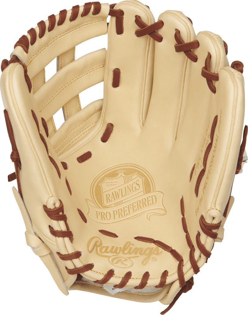 Rawlings 12.25 Adult and Youth Baseball Glove endorced by Kris Bryant at headbangersports.com.
