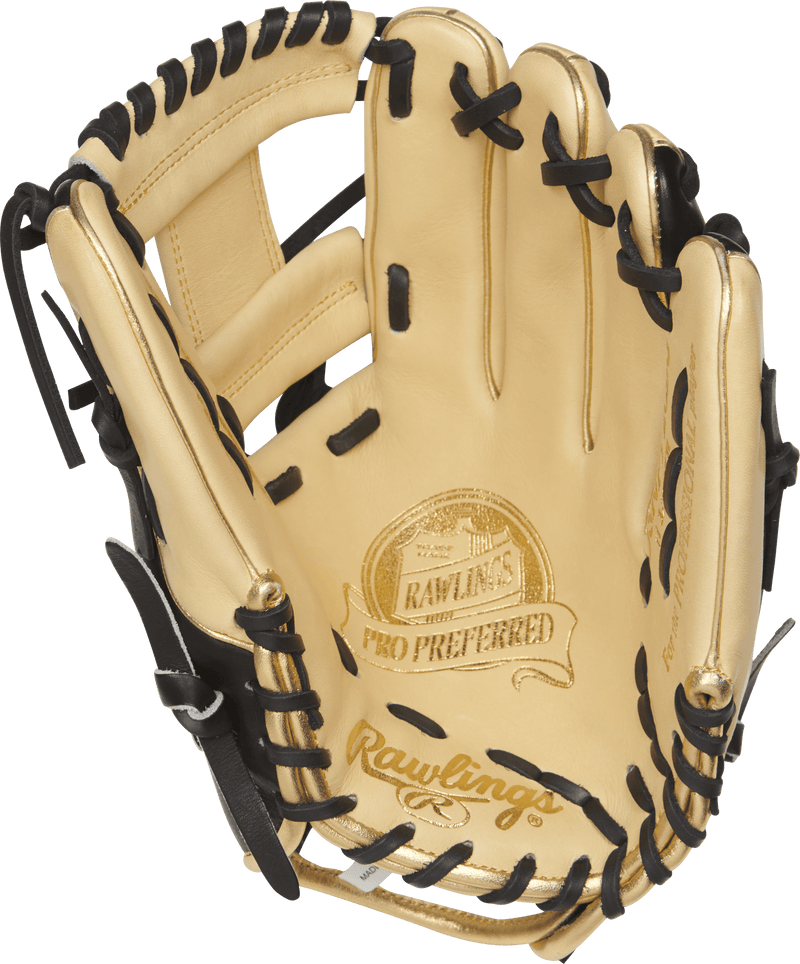 "Pro Preferred Kip Leather Rawlings Baseball Glove for Adults and Youth - 11 3/4"" Baseball Mitt at headbangersports.com"