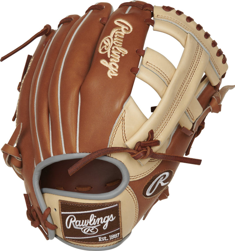"Rawlings Heart of the Hide Color Sync 4.0 11.5"" Baseball Glove: PROTT2-20CGB"