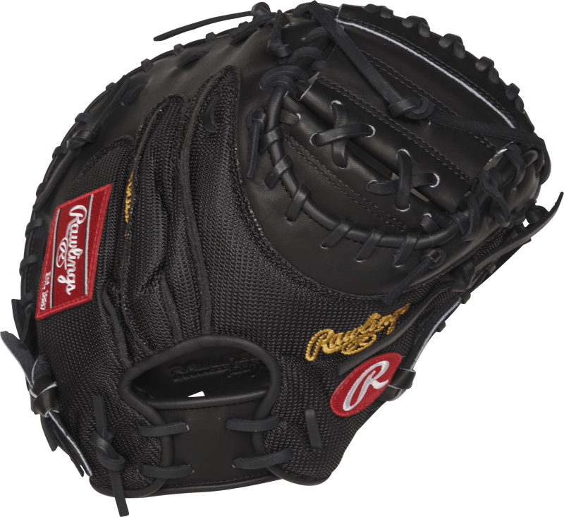 Heart of the Hide Yadier Molina 34 in Game Day Catcher Mitt - Rawlings
