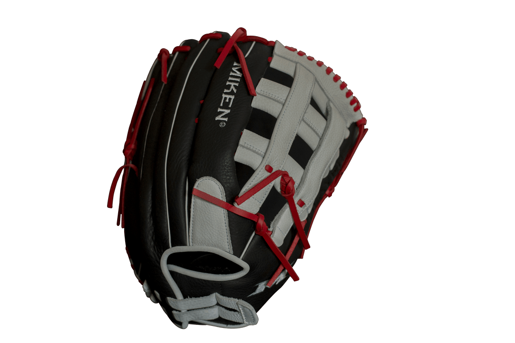 "Miken Player Series 13.5"" Slow Pitch Softball Fielding Glove: PS135-PH at headbangersports.com"