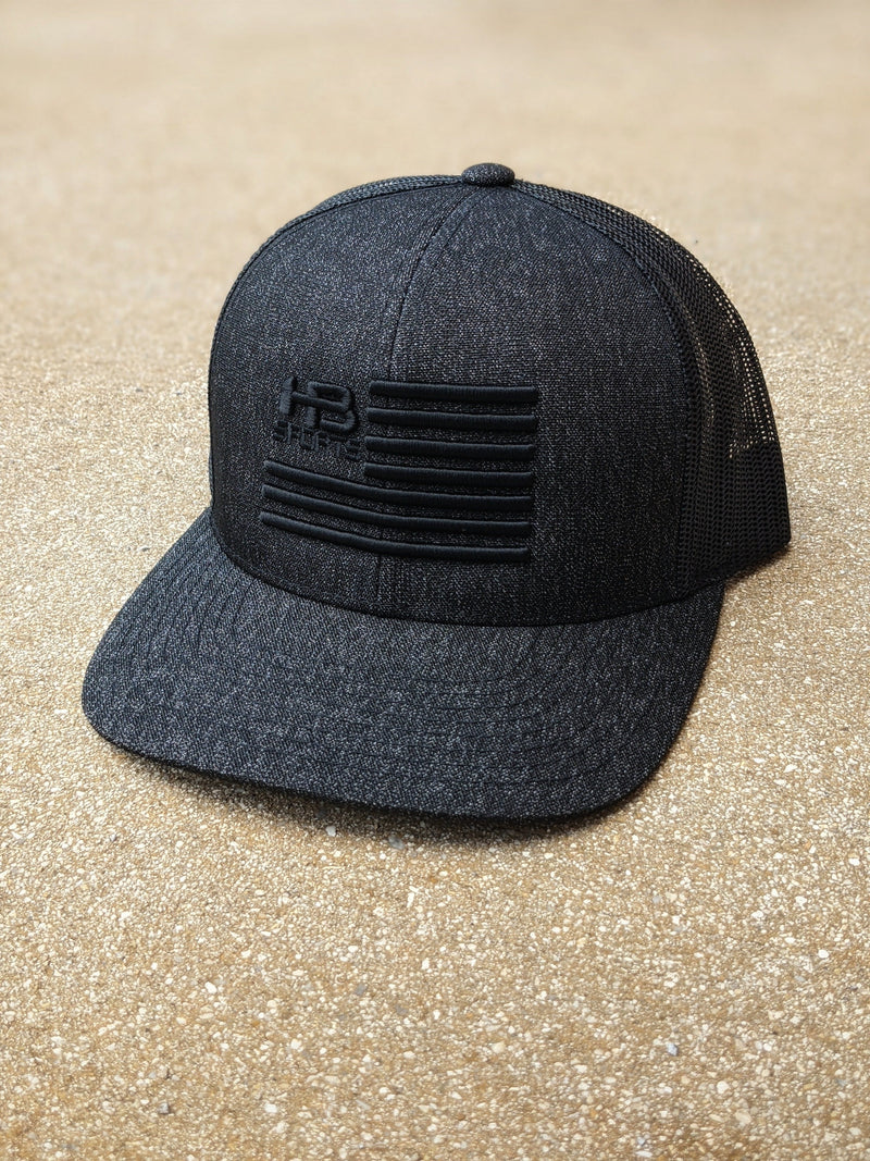 HB Sports / Banger Brand Pacific 110C Heather Trucker Snapback: Heather Series