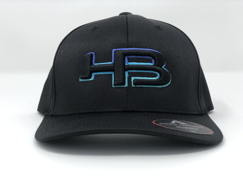 HB Sports Exclusive Pacific 476F White Performance Flex Fit Hat: LOGIC at headbangersports.com