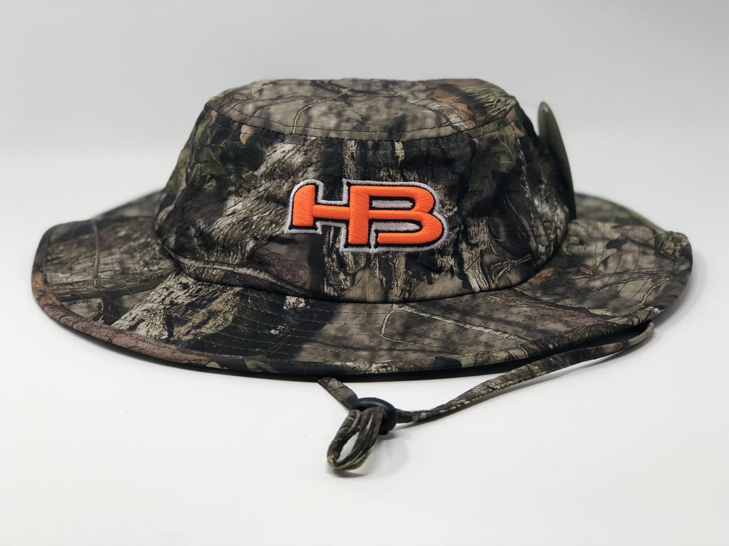 HB Sports Exclusive Pacific 1948 Boonie Bucket Cap: Mossy Oak Camo