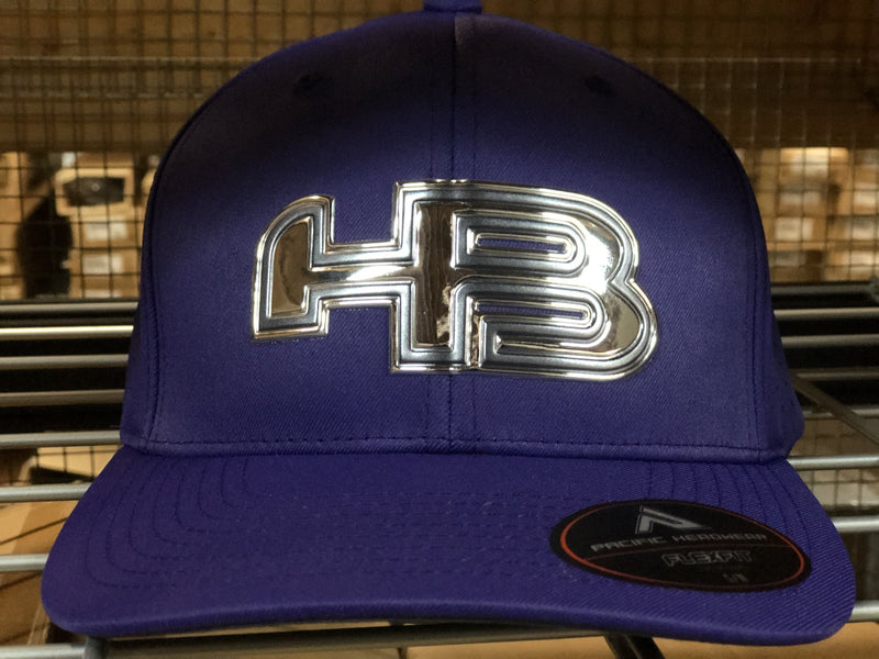 HB Exclusive 474F F3 Fitted Liquid Embroidered Hat: NORTHERN LIGHTS at headbangersports.com
