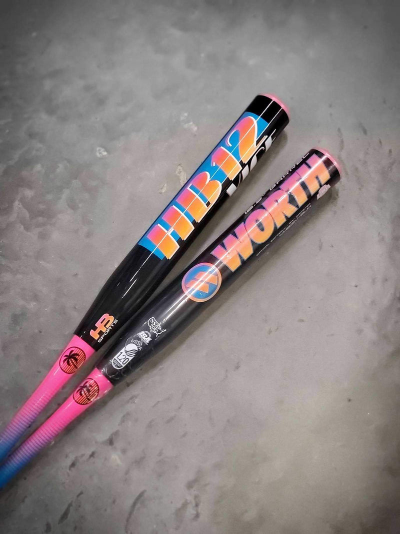 2020 Worth HB12 Vice Black XL USSSA Exclusive Slowpitch Softball Bat: WHB12V-BLK