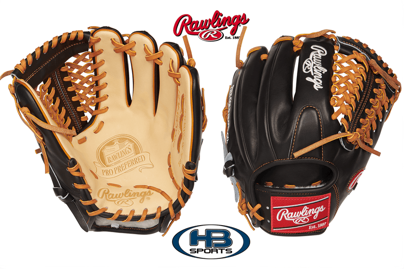 "Rawlings Pro Preferred 11.75"" Baseball Glove: PROS205-4CBT at headbangersports.com"