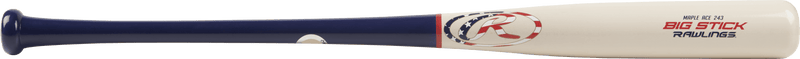 Side view of Rawlings Big Stick Maple Ace Wood Baseball Bat: R243MA