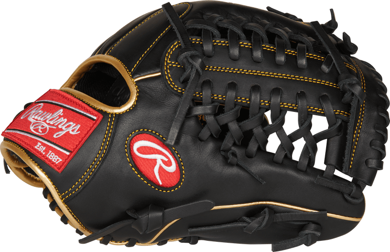"Rawlings R9 11.75"" Infield/Pitcher's Baseball Glove: R9205-4BG"