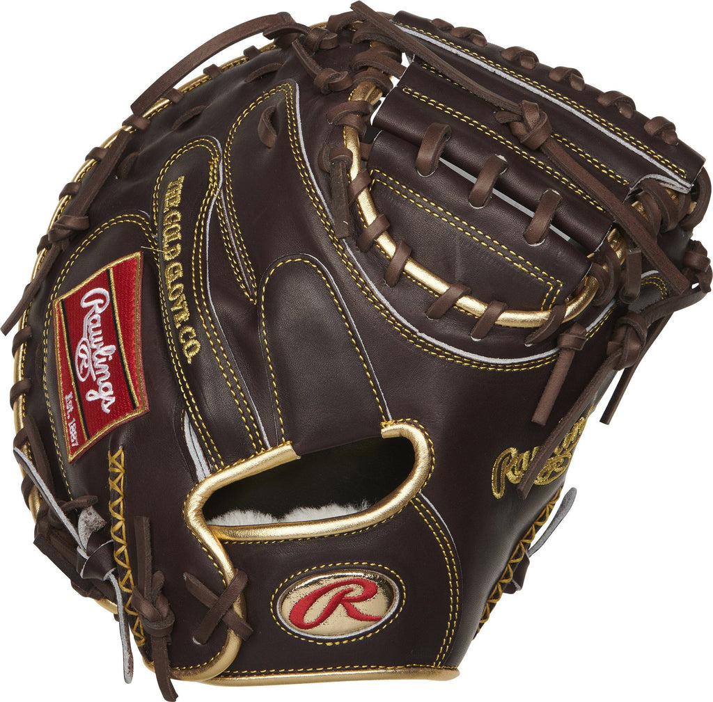 "Rawlings Gold Glove 34"" Catcher's Mitt: RGGCM43MO at headbangersports.com"