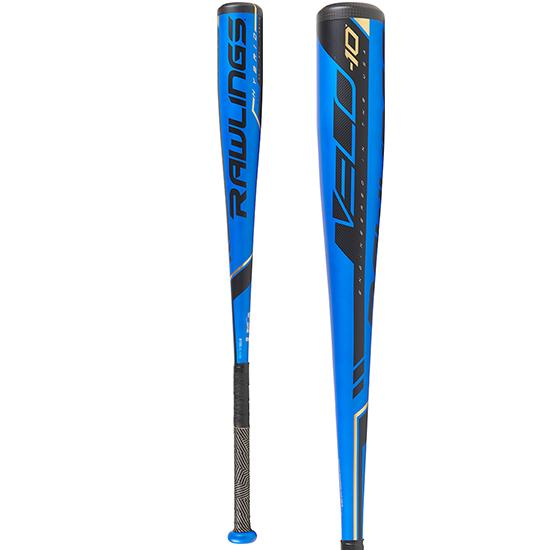 2019 Rawlings VELO (-10) USA Baseball Bat: US9V10 at headbangersports.com