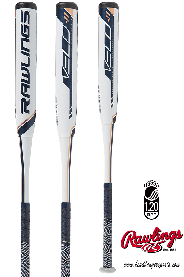 2019 Rawlings VELO (-11) Fastpitch Softball Bat: FP9V11 at headbangersports.com