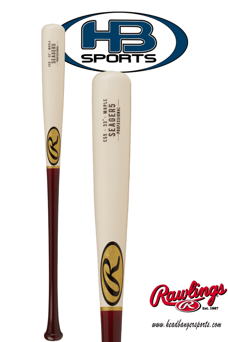 2018 Rawlings Pro Label Corey Seager Game Day Maple Wood Baseball Bat: CS5PL at headbangersports.com