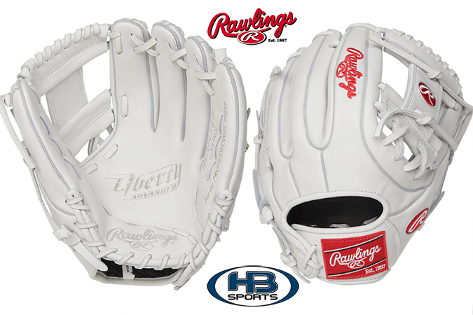 rawlings liberty advanced 11 75 fastpitch softball glove rla715 2w