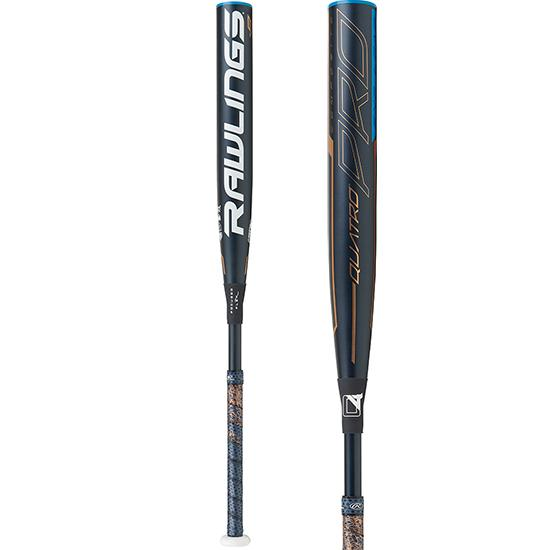 2020 Rawlings Quatro Pro (-9) End-Loaded Fastpitch Softball Bat: FPPE9 at headbangersports.com