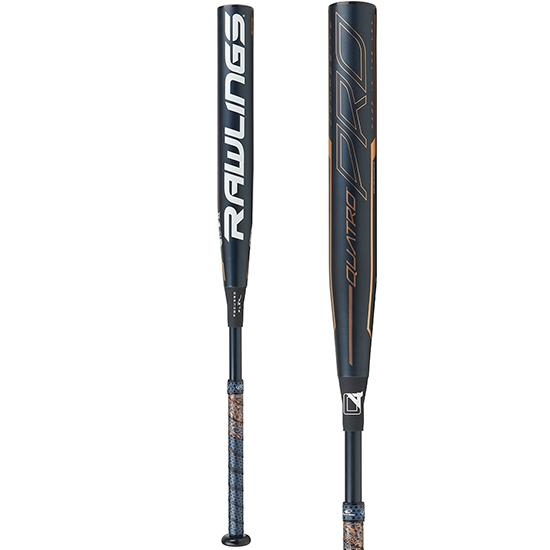 2020 Rawlings Quatro Pro (-10) Fastpitch Softball Bat: FPZP10 at headbangersports.com