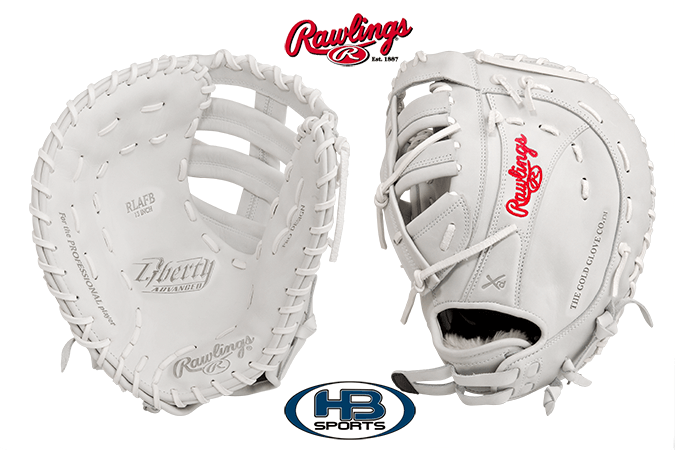 "2017 Rawlings Liberty Advanced 13"" Fastpitch First Base Mitt: RLAFB"