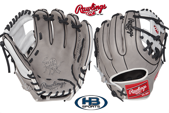 "Rawlings Heart of the Hide 11.75"" Fastpitch Softball Glove: PRO715SB-2GW at headbangersports.com"