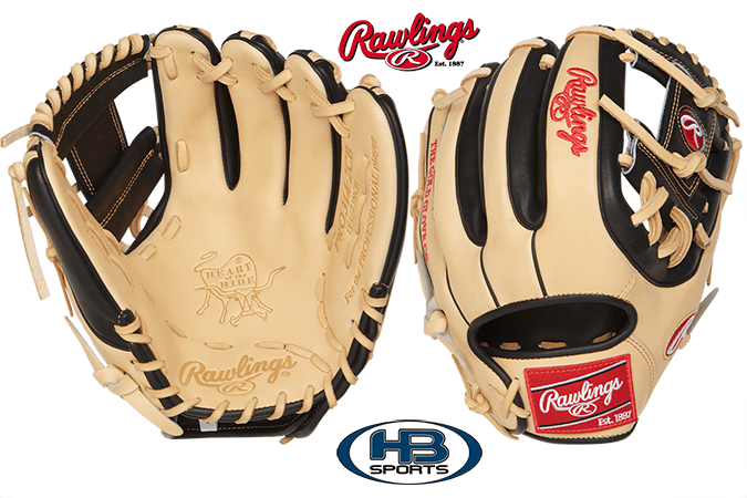 "Rawlings Heart of the Hide 11.5"" Baseball Glove: PRO314-2CB at headbangersports.com"