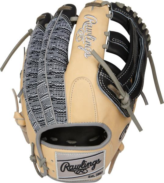 "Rawlings Heart of the Hide ColorSync 3.0 Mesh 11.75"" Baseball Glove: PRO205-6BCZ"
