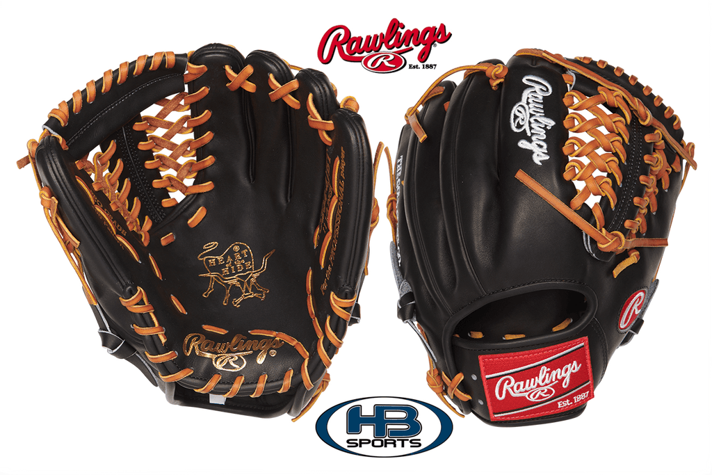"2018 Rawlings Heart of the Hide 11.5"" Baseball Glove (PRO204-4JBT) at headbangersports.com"