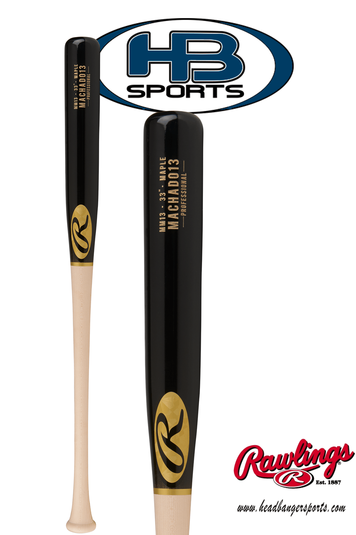 f2f13a7ea 2018 Rawlings Pro Label Manny Machado Game Day Maple Wood Baseball Bat   MM13PL