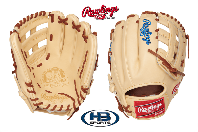 "Rawlings Pro Preferred Kris Bryant 12.25"" Game Day Glove: PROSKB17 at headbangersports.com"