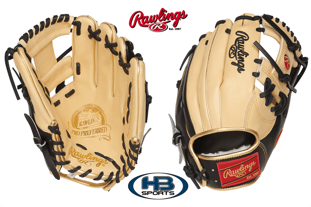 "Rawlings Pro Preferred 11.75"" Infield Baseball Glove: PROSNP5-2BG at headbangersports.com"