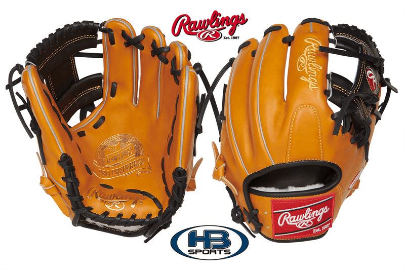 "Rawlings Pro Preferred 11.5"" Baseball Glove: PROS204-2RTB at headbangersports.com"