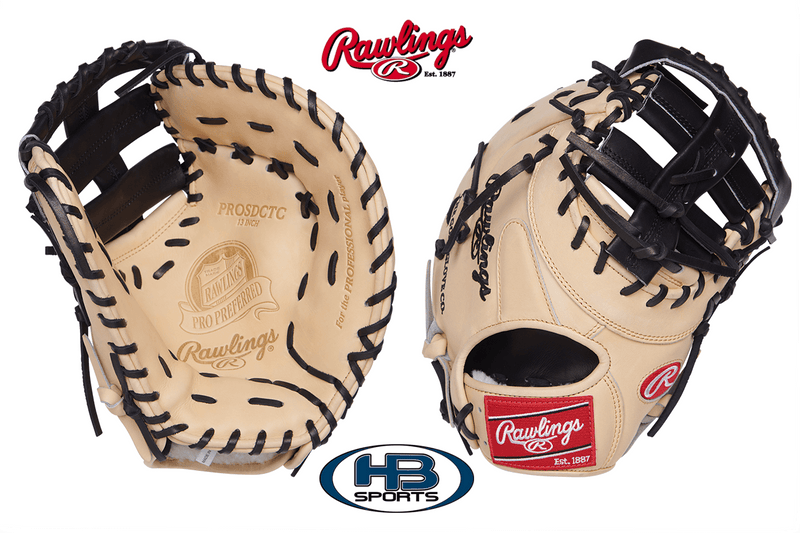 "Rawlings Pro Preferred 13"" 1st Baseman's Mitt at headbangersports.com"