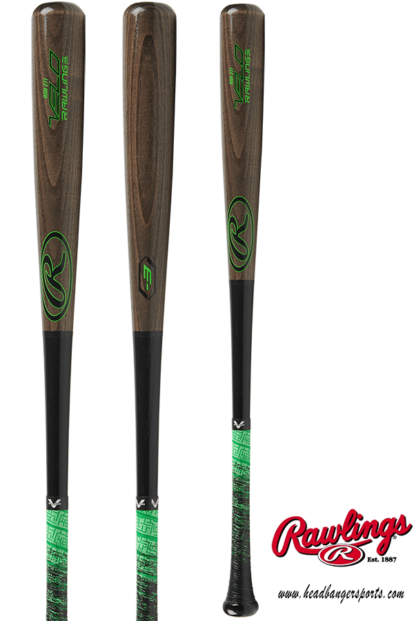 Rawlings VELO Ash Wood (-3) Baseball Bat: R271AV at headbangersports.com