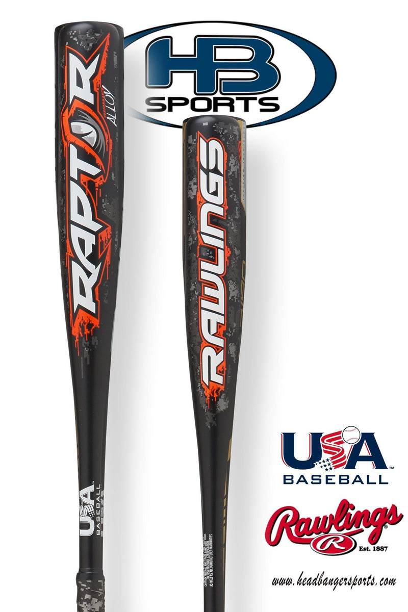 2018 Rawlings Raptor (-10) USA Youth Baseball Bat: US8R10 at headbangersports.com