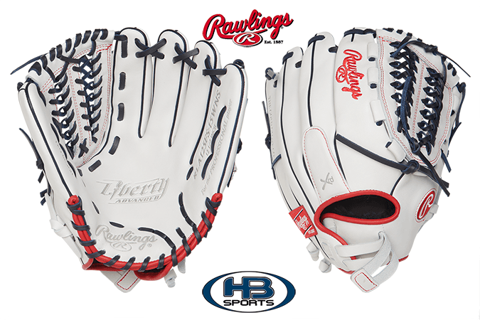 "Rawlings Liberty Advanced 12.5"" Fastpitch Softball Glove: RLA125FS-WNS"