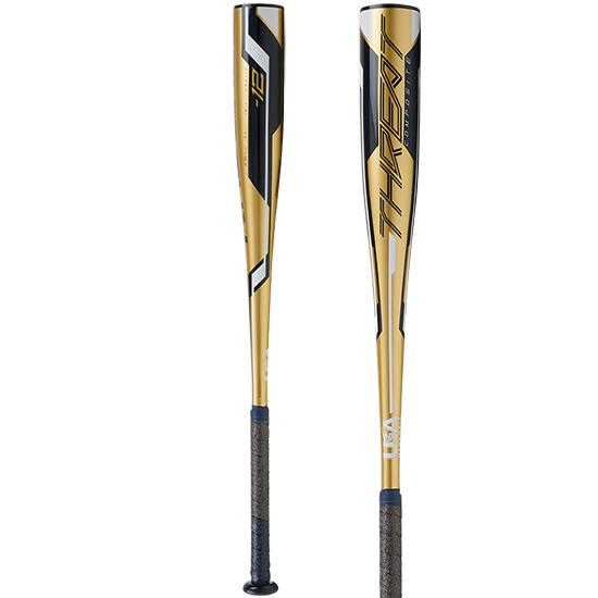 2020 Rawlings THREAT (-12) USA Baseball Bat: USZT12 at headbangersports.com