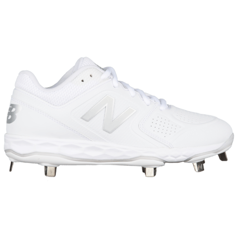 ef167cf9cc4e7 Side View of New Balance Women's Fresh Foam Velo1 Metal Fastpitch Softball  Cleats at headbangersports.