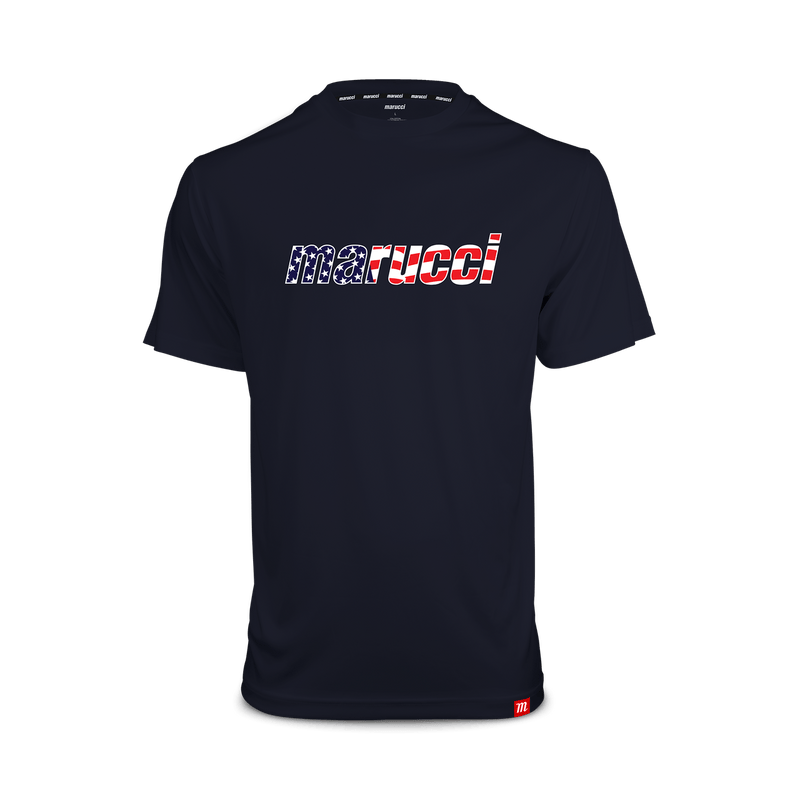 Marucci Mens USA T-Shirt (NAVY)