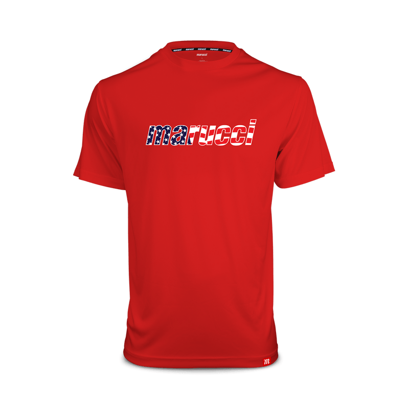 Marucci Mens USA T-Shirt (Red)