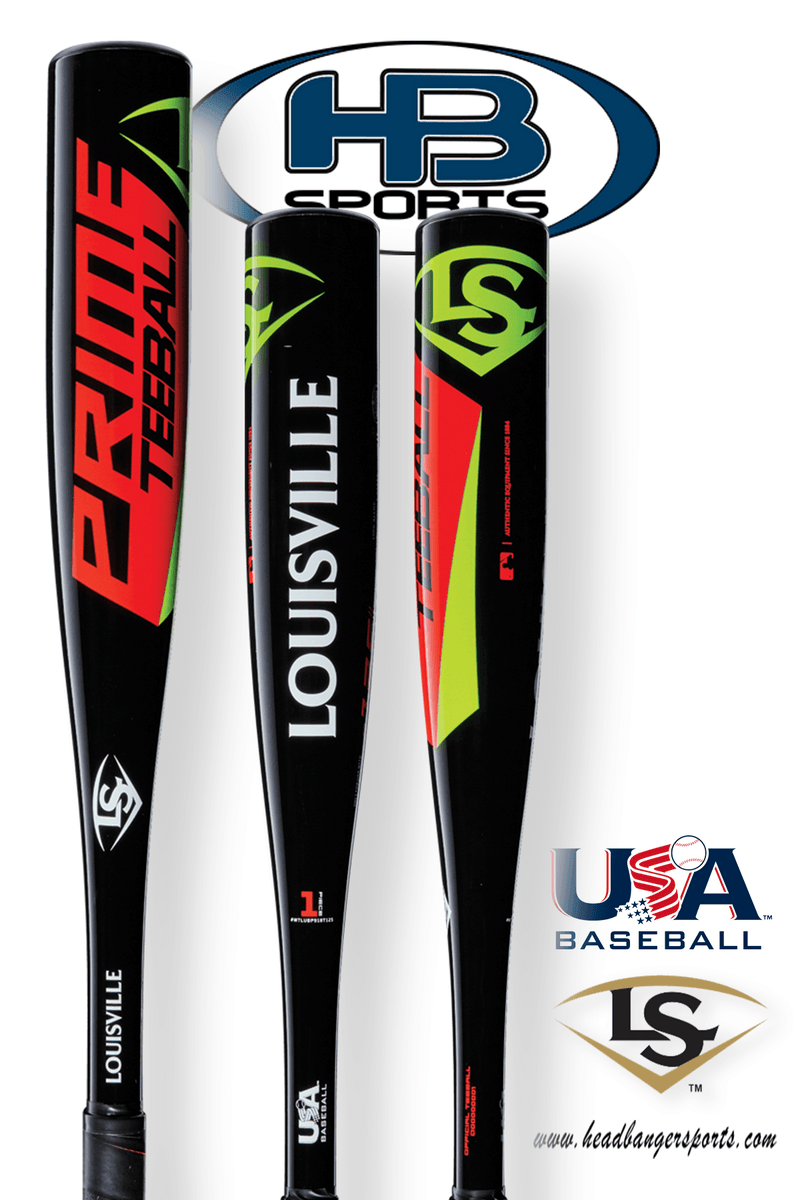 2018 Louisville Slugger Prime 918 USA Tee Ball Bat: WTLUBP918T125 at headbangersports.com