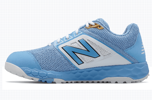 5b969f1d New Balance Men's 3000v4 Turf Shoe (T3000SD4): Baby Blue with White