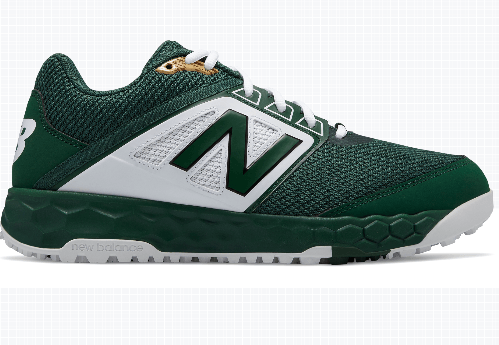 New Balance Men's T3000v4 Turf Shoe (T3000TG4): Green with White at headbangersports.com