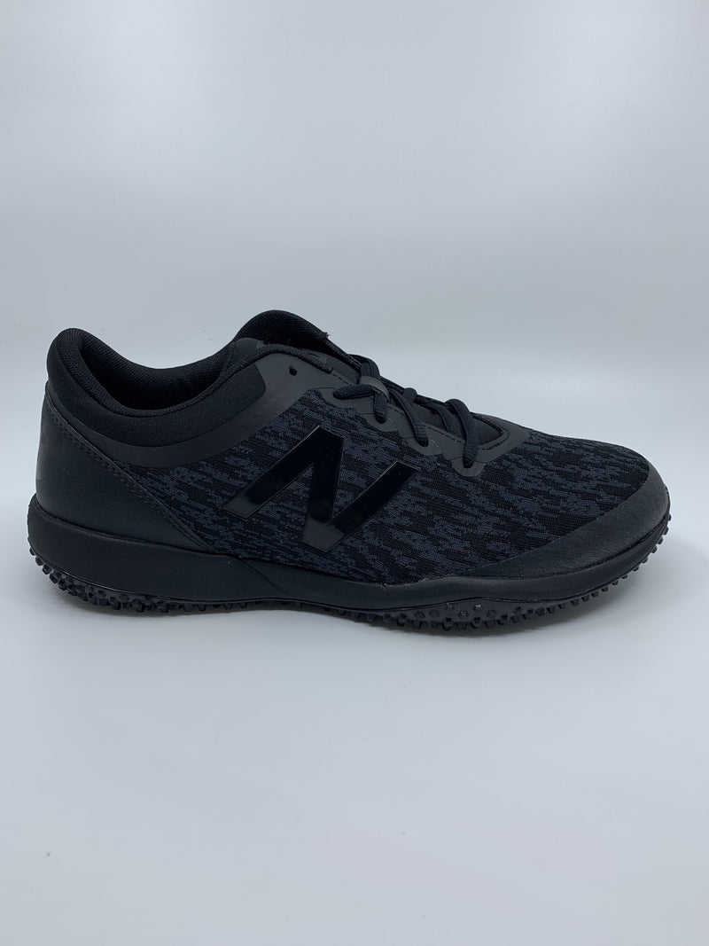 New Balance Men's T4040v5 Baseball and Softball Turf: Triple Black at headbangersports.com